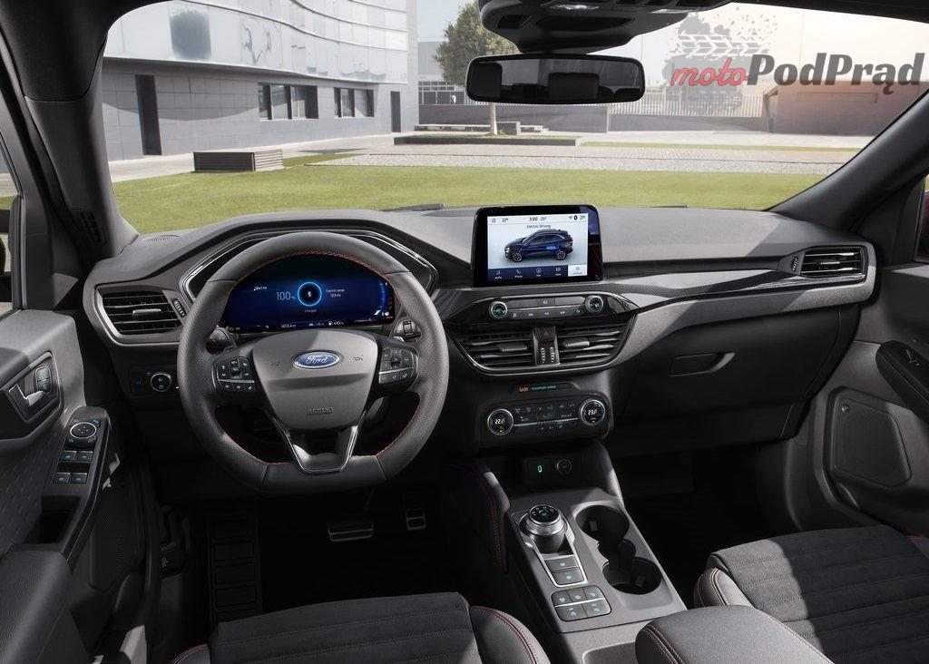 Ford Kuga 2020 1024 10 1024x732 Nowy Ford Kuga   postępująca hybrydyzacja