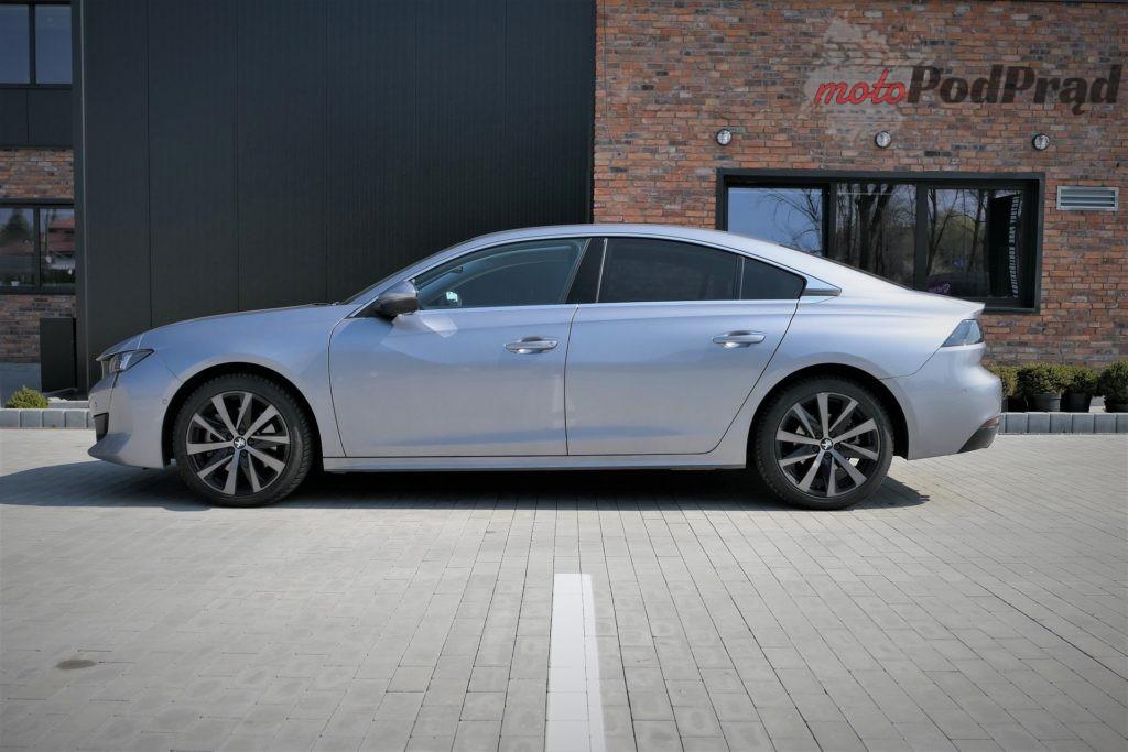 Peugeot 508 13 1024x683 Test: Peugeot 508 2.0 BlueHDI 160 KM   jeździ i wygląda