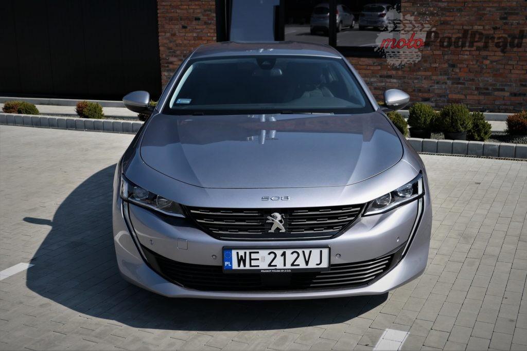 Peugeot 508 8 1024x683 Test: Peugeot 508 2.0 BlueHDI 160 KM   jeździ i wygląda
