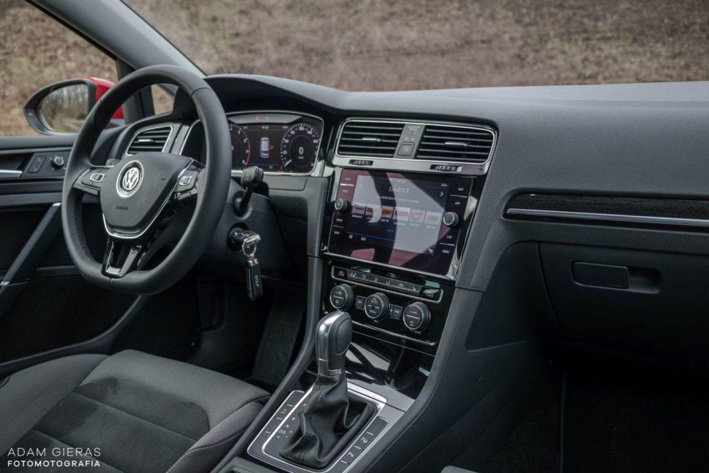 golf tsi 14 1024x683 Test: Volkswagen Golf 1.5 TSI 130 KM   kondycja króla nadal dobra?