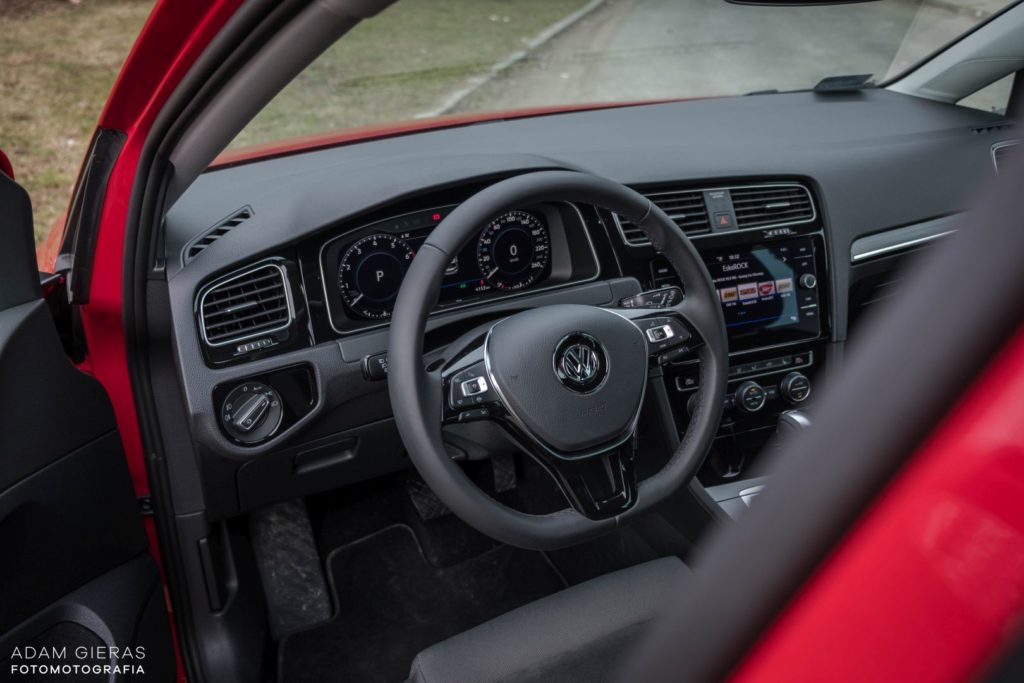 golf tsi 17 1024x683 Test: Volkswagen Golf 1.5 TSI 130 KM   kondycja króla nadal dobra?