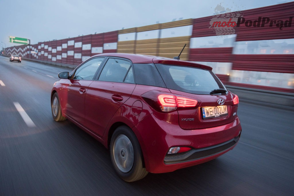 hyundai i20 15 1024x684 Test: Hyundai i20 1.2 MPI 84 KM   nie tylko miejski
