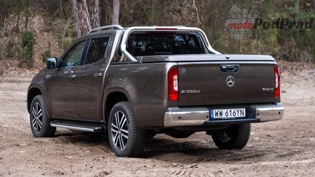 mercedes X 350d 10 1024x576 Porównanie: Volkswagen Amarok Aventura V6 3.0 TDI VS. Mercedes X350d V6 – mocarny pojedynek