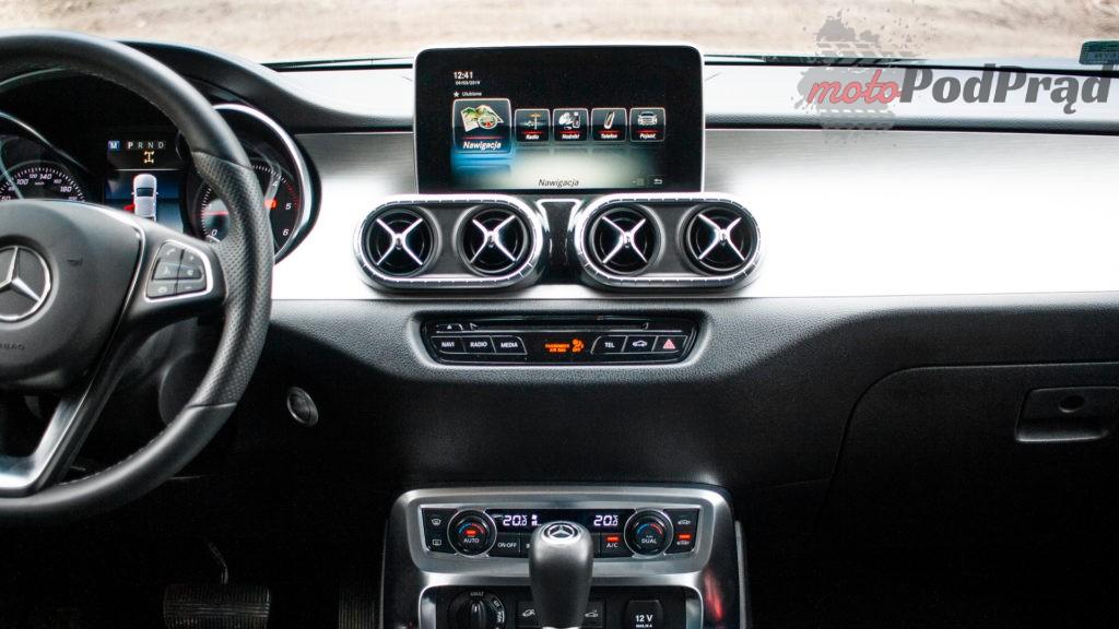 mercedes X 350d 25 1024x576 Porównanie: Volkswagen Amarok Aventura V6 3.0 TDI VS. Mercedes X350d V6 – mocarny pojedynek