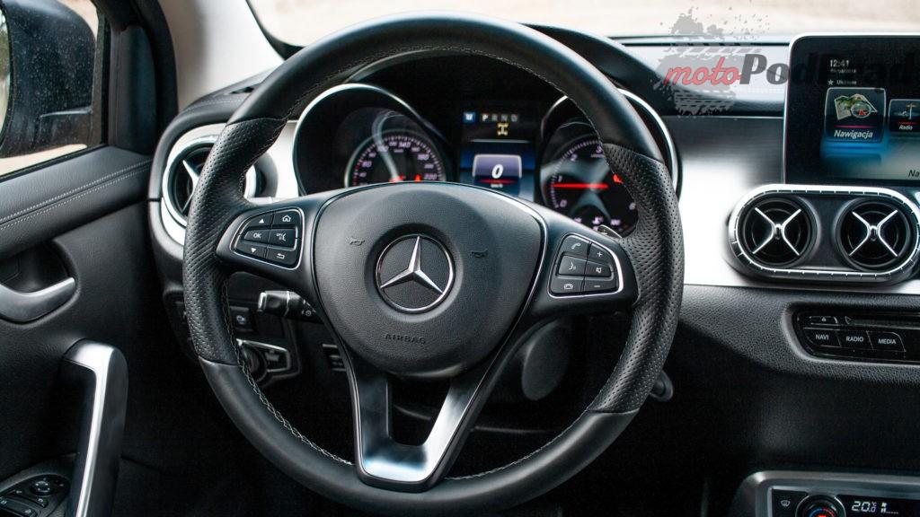mercedes X 350d 26 1024x576 Porównanie: Volkswagen Amarok Aventura V6 3.0 TDI VS. Mercedes X350d V6 – mocarny pojedynek