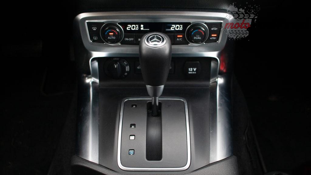 mercedes X 350d 27 1024x576 Porównanie: Volkswagen Amarok Aventura V6 3.0 TDI VS. Mercedes X350d V6 – mocarny pojedynek