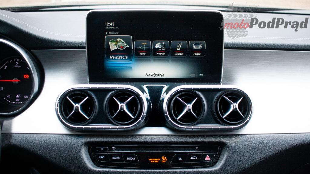 mercedes X 350d 29 1024x576 Porównanie: Volkswagen Amarok Aventura V6 3.0 TDI VS. Mercedes X350d V6 – mocarny pojedynek