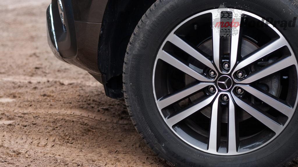 mercedes X 350d 7 1024x576 Porównanie: Volkswagen Amarok Aventura V6 3.0 TDI VS. Mercedes X350d V6 – mocarny pojedynek