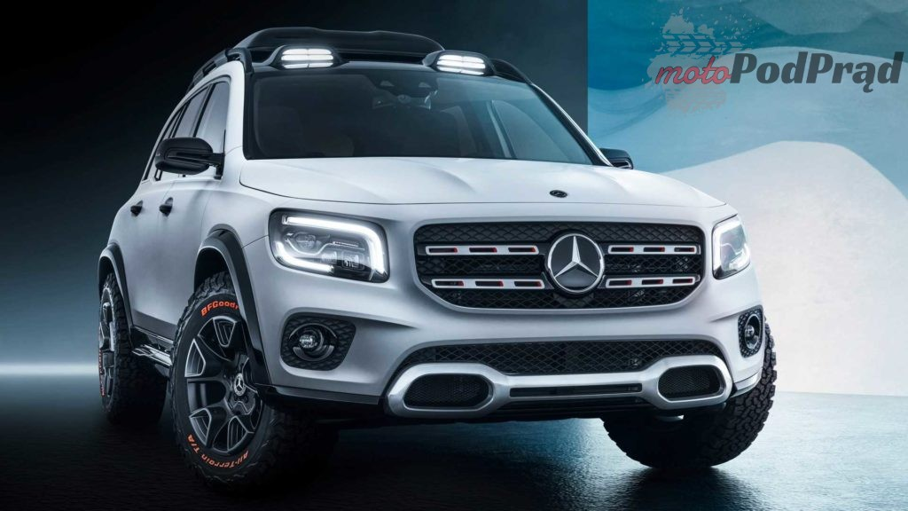mercedes bens concept glb 2 1024x576 Nowy Mercedes GLB to 7 miejscowy, kompaktowy crossover
