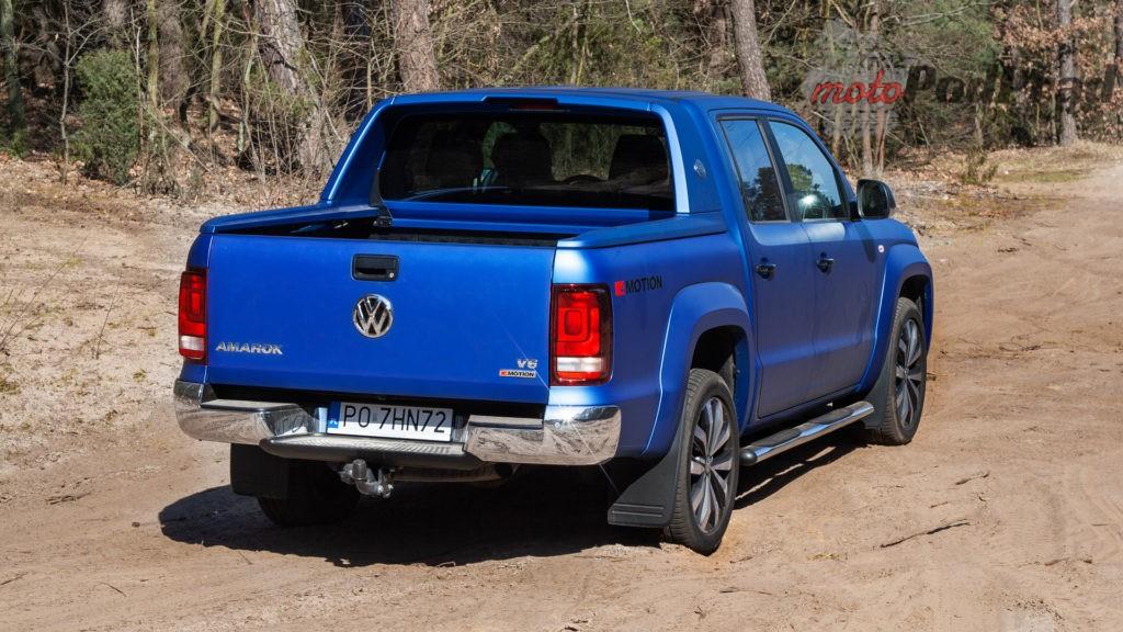 volkswagen amarok v6 7 1024x576 Porównanie: Volkswagen Amarok Aventura V6 3.0 TDI VS. Mercedes X350d V6 – mocarny pojedynek