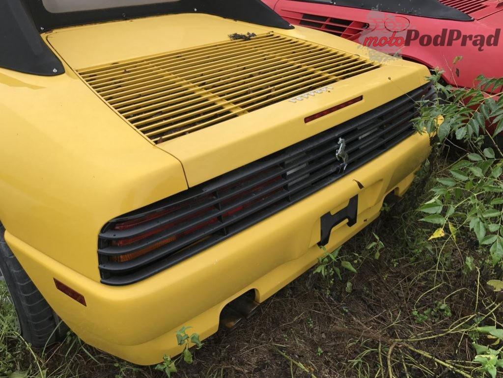 2019 05 22 11 47 47 11 klasycznych Ferrari porzuconych w polu 1024x770