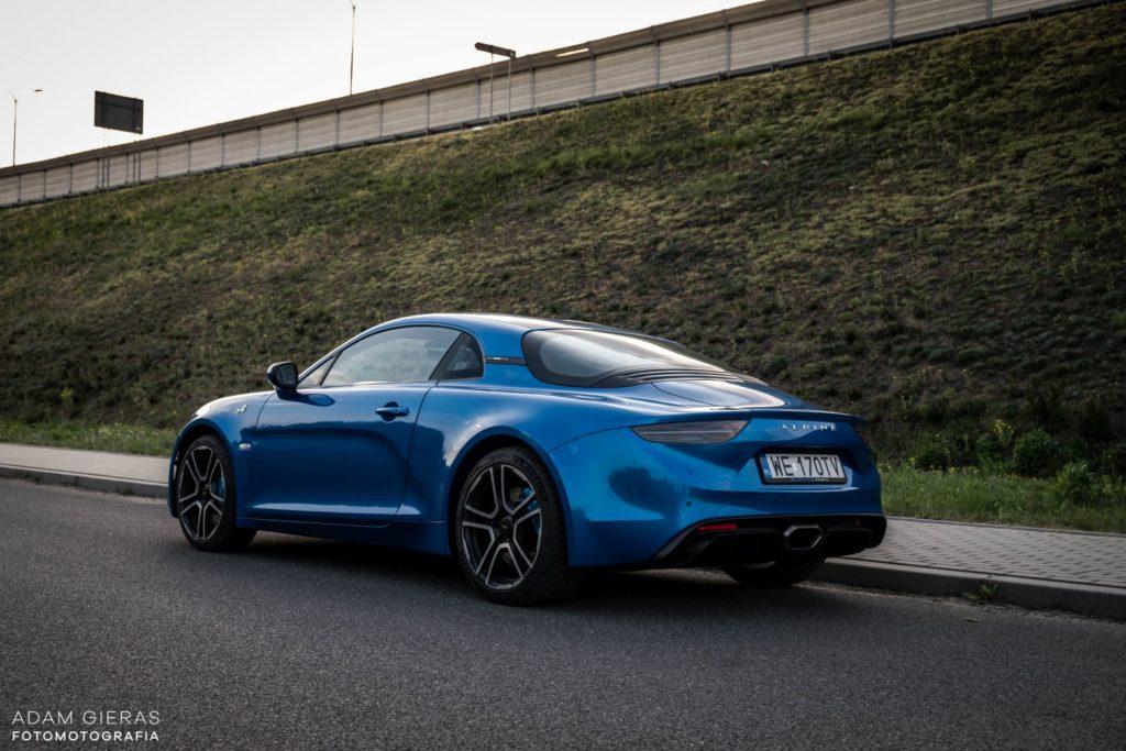Alpine A110 2 1024x683 Test: Alpine A110 Premiere Edition   dla takich aut warto żyć