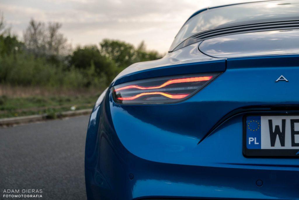 Alpine A110 3 1024x683 Test: Alpine A110 Premiere Edition   dla takich aut warto żyć