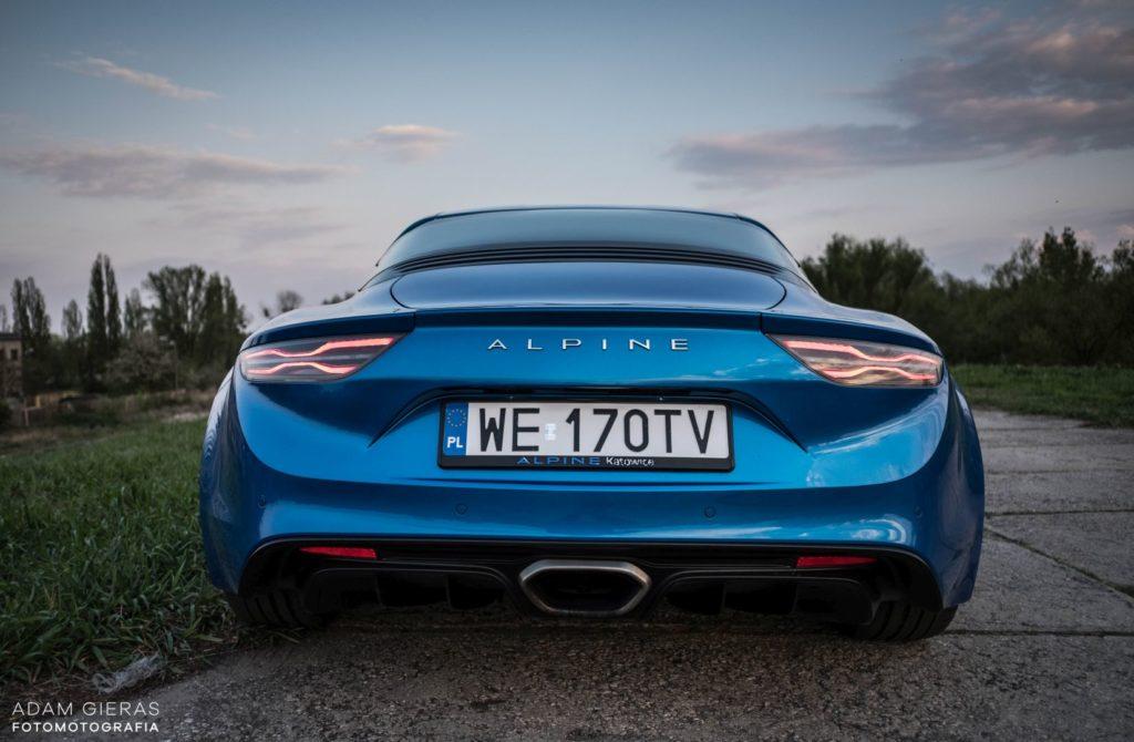 Alpine A110 30 1024x670 Test: Alpine A110 Premiere Edition   dla takich aut warto żyć