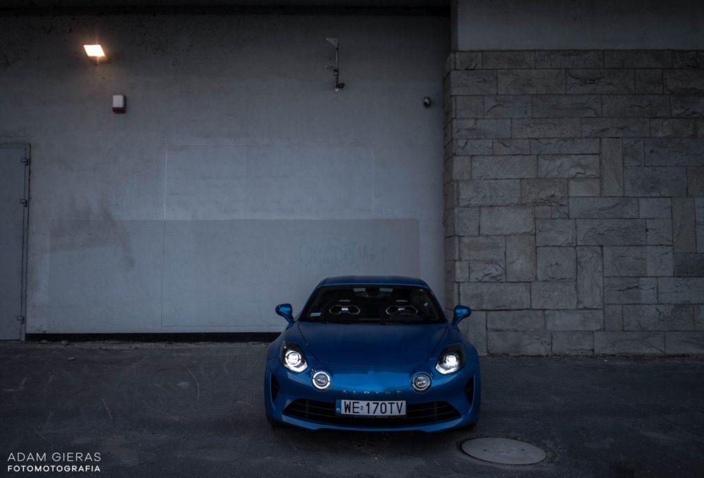 Alpine A110 34 1024x695 Test: Alpine A110 Premiere Edition   dla takich aut warto żyć
