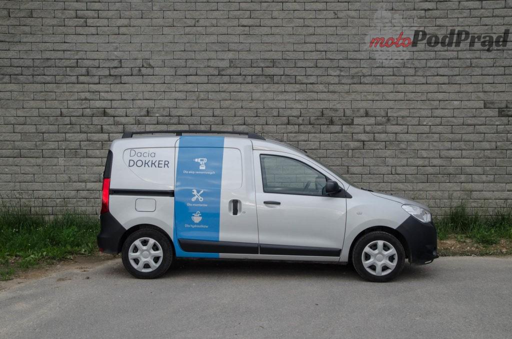 Dacia Dokker 11 1024x678 Test: Dacia Dokker VAN – mobilny serwis szybkiego reagowania