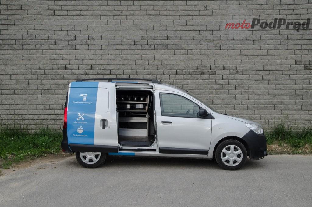 Dacia Dokker 12 1024x678 Test: Dacia Dokker VAN – mobilny serwis szybkiego reagowania