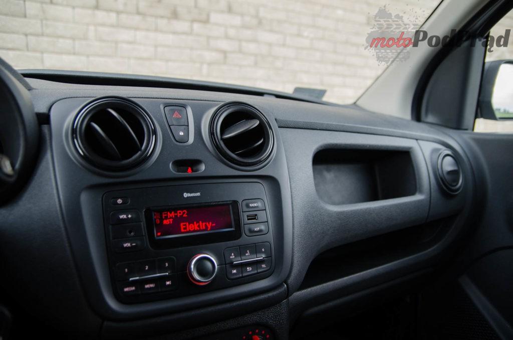 Dacia Dokker 17 1024x678 Test: Dacia Dokker VAN – mobilny serwis szybkiego reagowania
