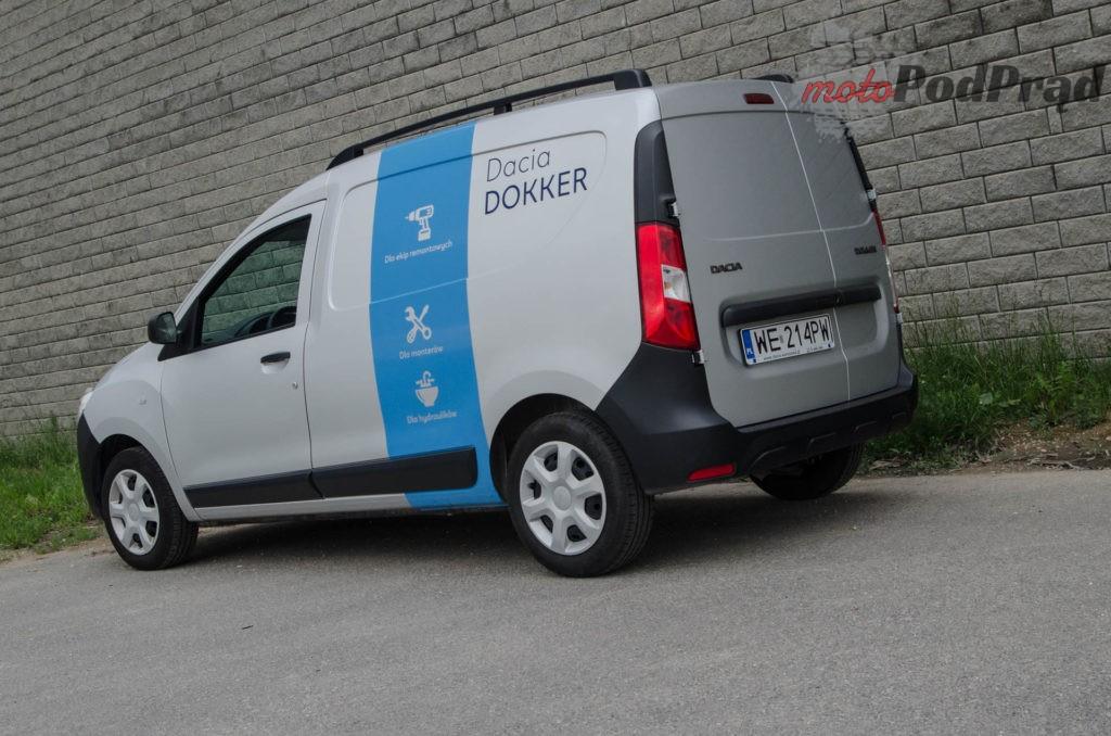 Dacia Dokker 3 1024x678 Test: Dacia Dokker VAN – mobilny serwis szybkiego reagowania