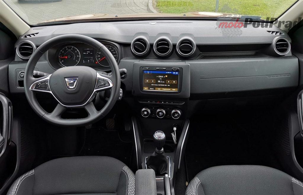 Dacia Duster 13 9 1024x660 Test: Dacia Duster 1.3 Tce 150 KM   z nowym sercem