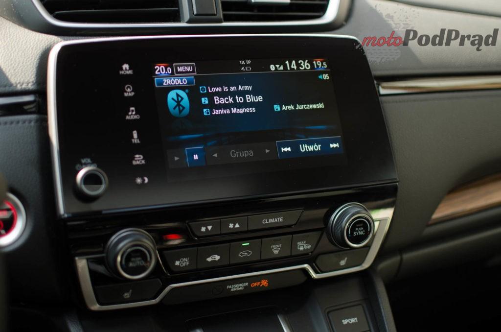Honda C RV 13 1024x678 Test: Honda CR V Hybrid — Hybrydą na Śląsk