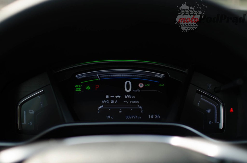Honda C RV 14 1024x678 Test: Honda CR V Hybrid — Hybrydą na Śląsk