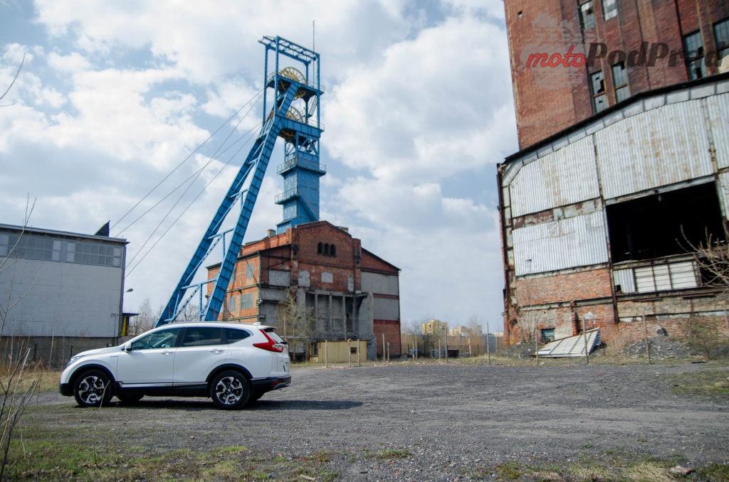 Honda C RV 2 1024x678 Test: Honda CR V Hybrid — Hybrydą na Śląsk