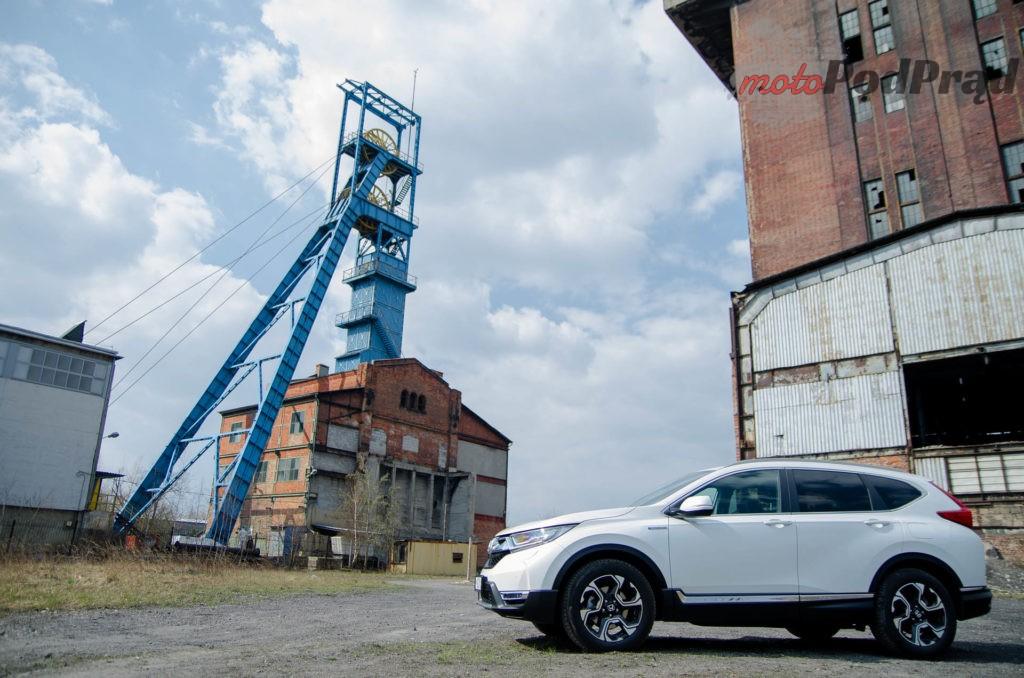 Honda C RV 3 1024x678 Test: Honda CR V Hybrid — Hybrydą na Śląsk