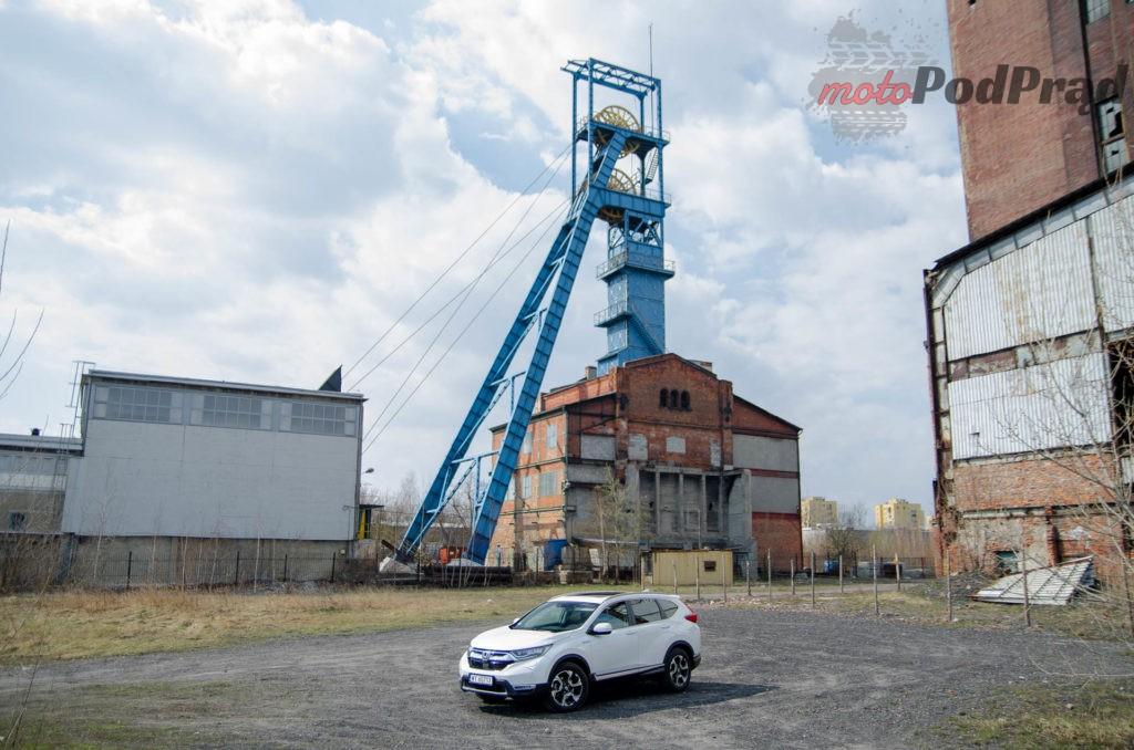 Honda C RV 4 1024x678 Test: Honda CR V Hybrid — Hybrydą na Śląsk