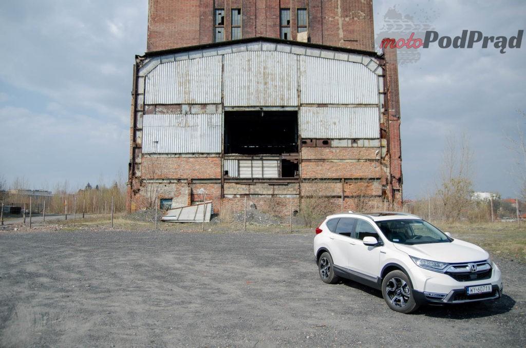 Honda C RV 5 1024x678 Test: Honda CR V Hybrid — Hybrydą na Śląsk