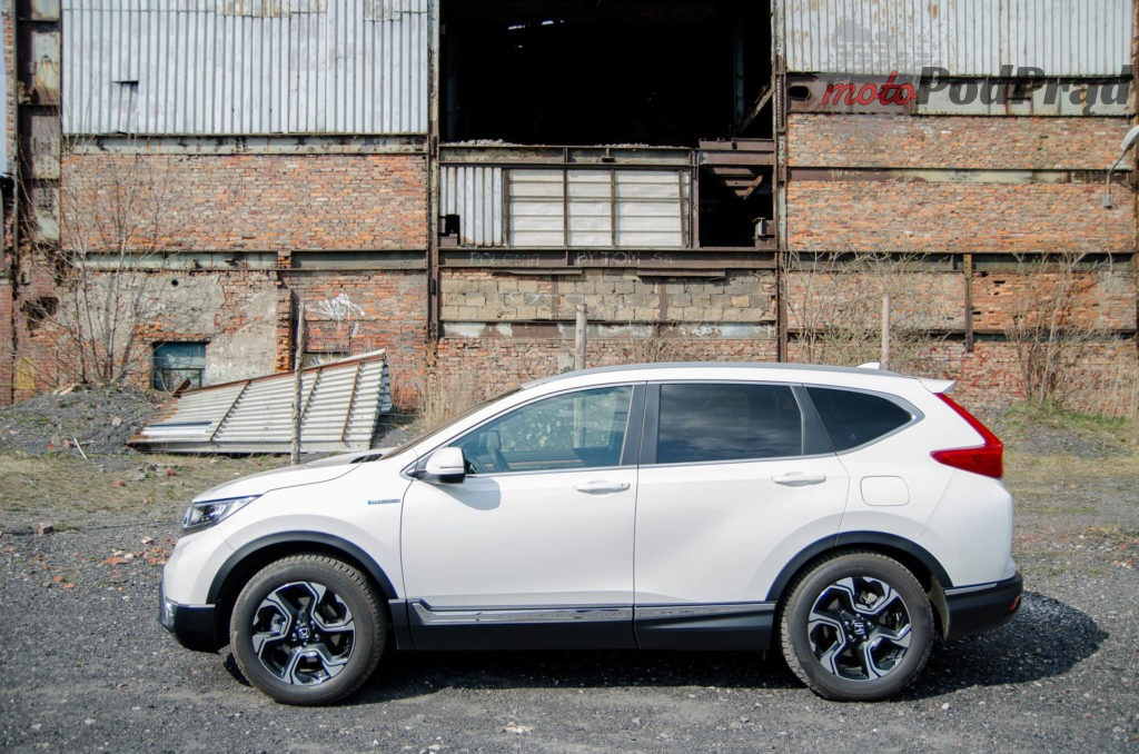 Honda C RV 6 1024x678 Test: Honda CR V Hybrid — Hybrydą na Śląsk