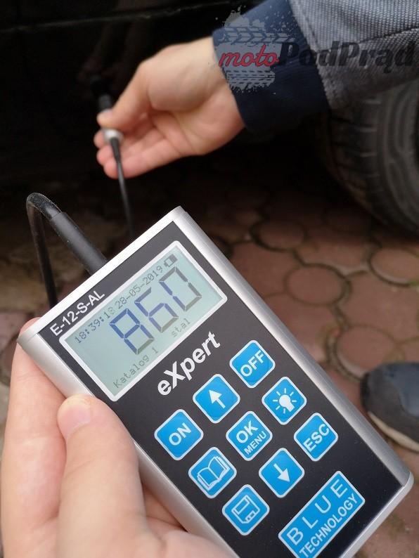 IMG 20190528 183619 Elektroniczny miernik grubości lakieru   jak interpretować wyniki? Na przykładzie pomiarów Blue Technology serii eXpert.