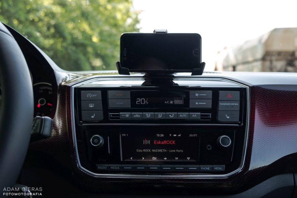 up wnetrze 3 1024x683 Test: Volkswagen up! GTI   tylko nie mów o nim mały!