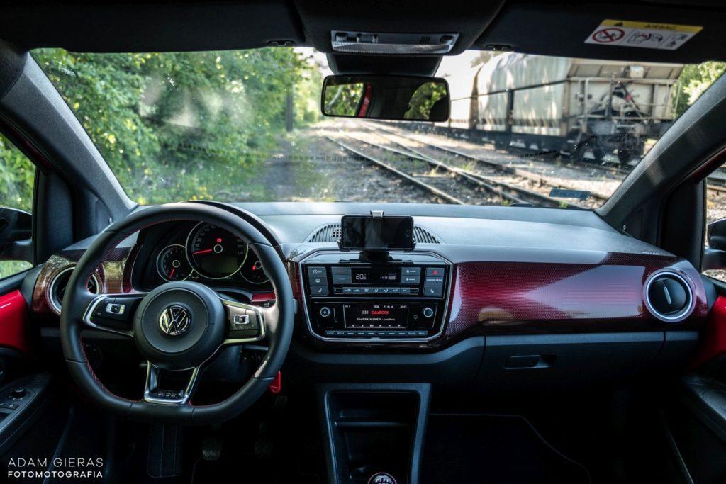 up wnetrze 5 1024x683 Test: Volkswagen up! GTI   tylko nie mów o nim mały!