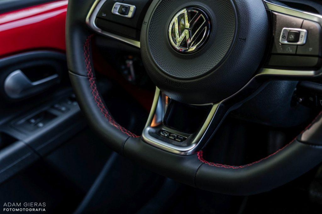up wnetrze 6 1024x683 Test: Volkswagen up! GTI   tylko nie mów o nim mały!