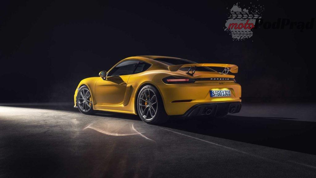 718 cayman gt4 1 1024x576 Porsche serii 718   6 cylindrów powraca