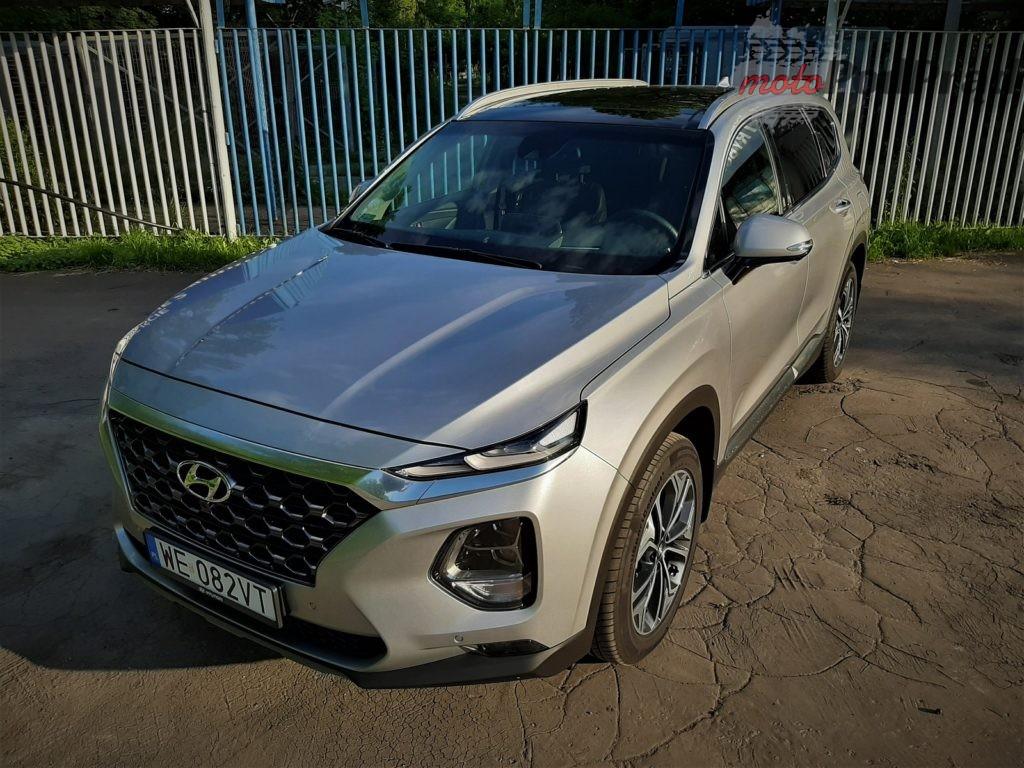 Hyundai Santa Fe 35 1024x768 Test: Hyundai Santa Fe   wygoda z Azji