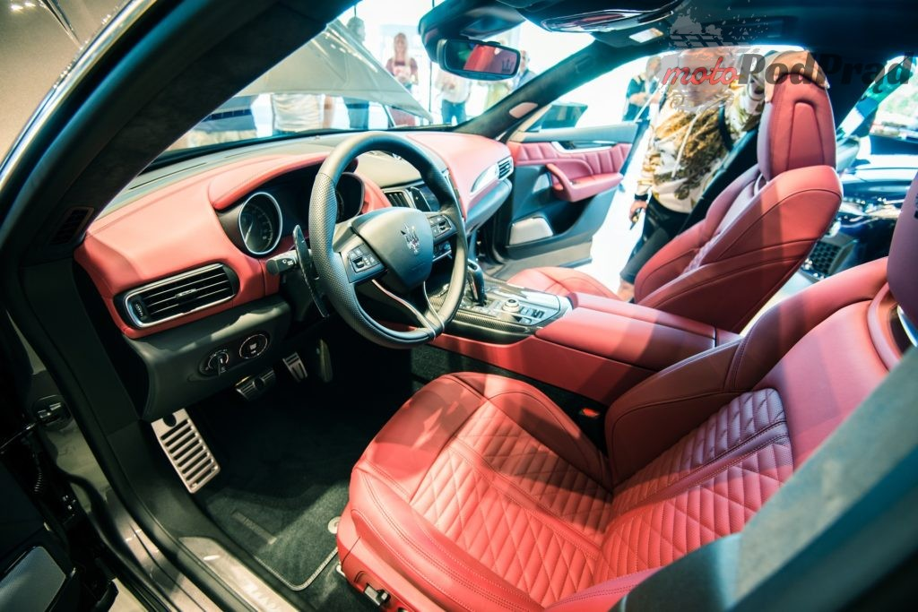 Prezentacja Maserati Levante 14 1024x683 Dotknęliśmy Maserati Levante Trofeo