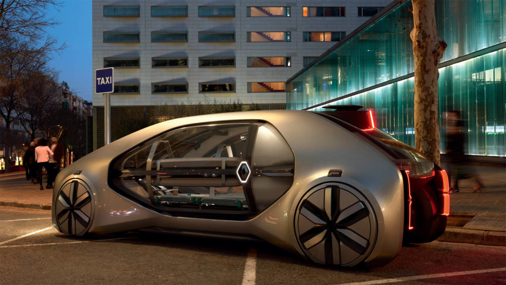 Renault EZ GO 14 1024x577 Spójrzmy w przyszłość razem z Renault EZ GO