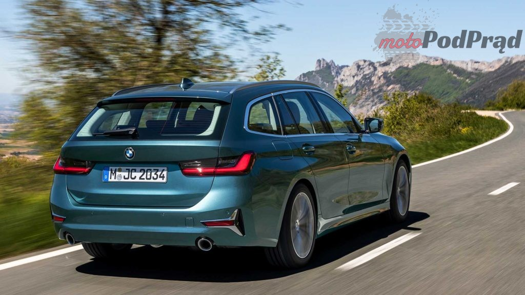 bmw 3er touring 2019 luxury line 1024x576 BMW serii 3 G21   większy, lżejszy, ładniejszy