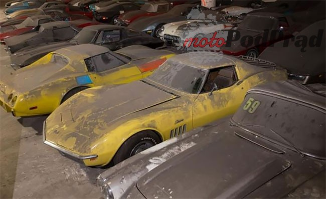 20 27 Kolejne znalezisko   36 Chevroletów Corvette
