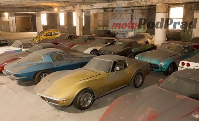 3 83 Kolejne znalezisko   36 Chevroletów Corvette