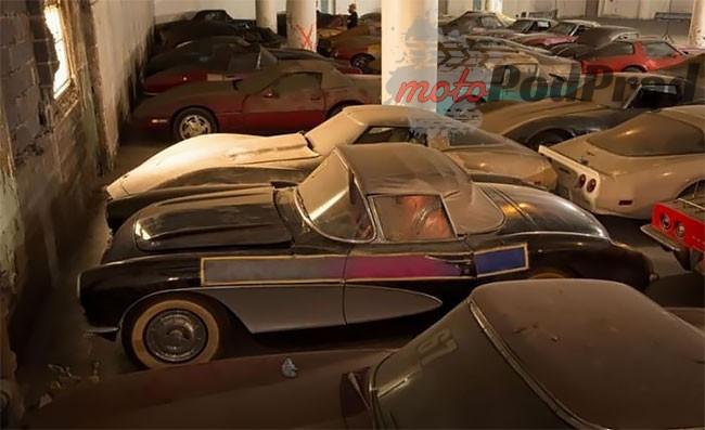8 55 Kolejne znalezisko   36 Chevroletów Corvette