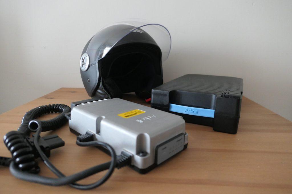 Baterie 3 1024x682 Test skuterów elektrycznych: Askoll ES1 dla niej i ES2 dla niego