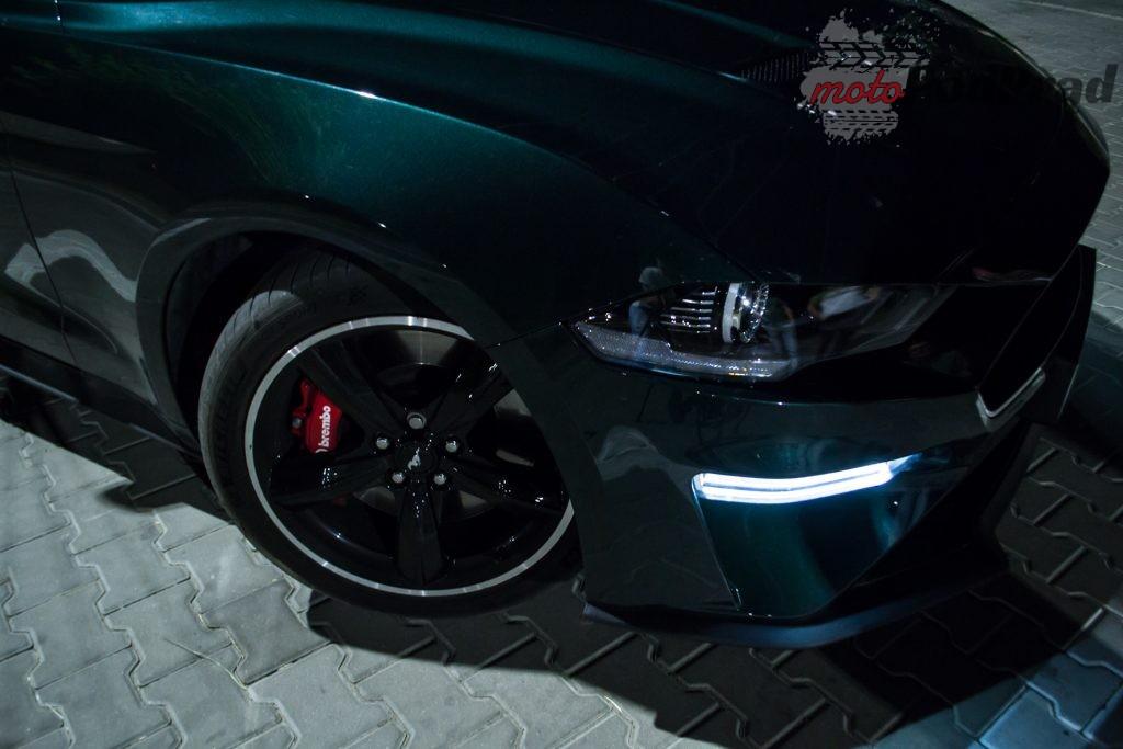 DSC 2397 1024x683 Test: Ford Mustang Bullitt 5.0 V8   być jak gwiazda Hollywood