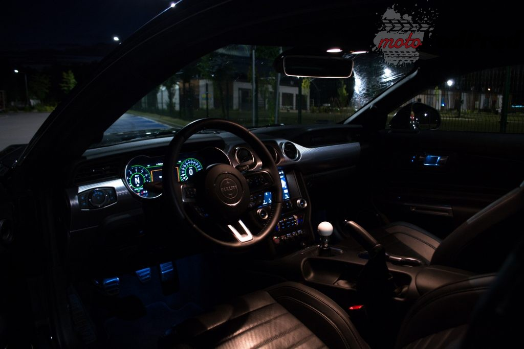 DSC 2400 1024x683 Test: Ford Mustang Bullitt 5.0 V8   być jak gwiazda Hollywood