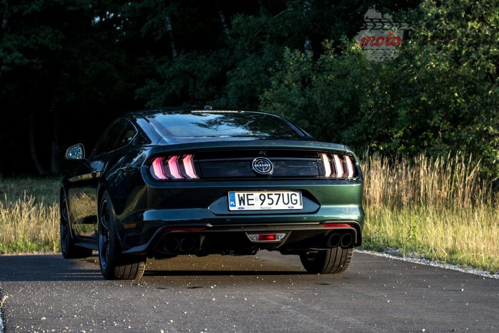 DSC 2410 1 1024x683 Test: Ford Mustang Bullitt 5.0 V8   być jak gwiazda Hollywood
