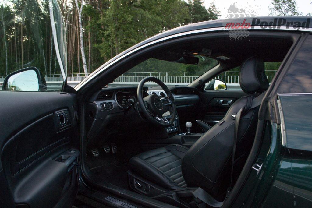 DSC 2430 1024x683 Test: Ford Mustang Bullitt 5.0 V8   być jak gwiazda Hollywood