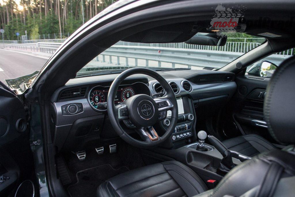 DSC 2432 1024x683 Test: Ford Mustang Bullitt 5.0 V8   być jak gwiazda Hollywood