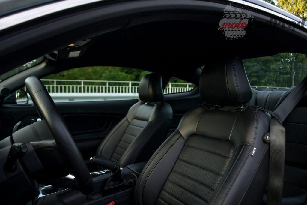 DSC 2433 1024x683 Test: Ford Mustang Bullitt 5.0 V8   być jak gwiazda Hollywood